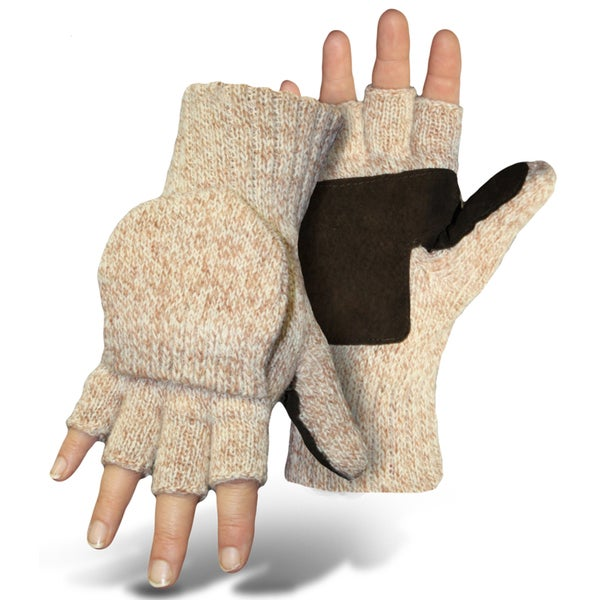 Boss Gloves 546LL Mitt Flap Ragg Wool Gloves