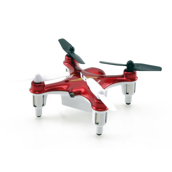 Syma X12 2.4Ghz 4ch Red Nano Quadcopter with Gyro
