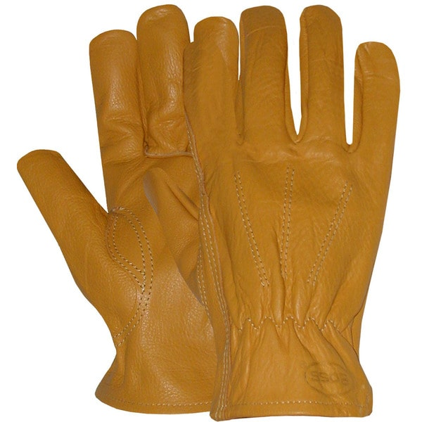 Boss Gloves 6036L Large Unlined Premium Grain Leather Gloves