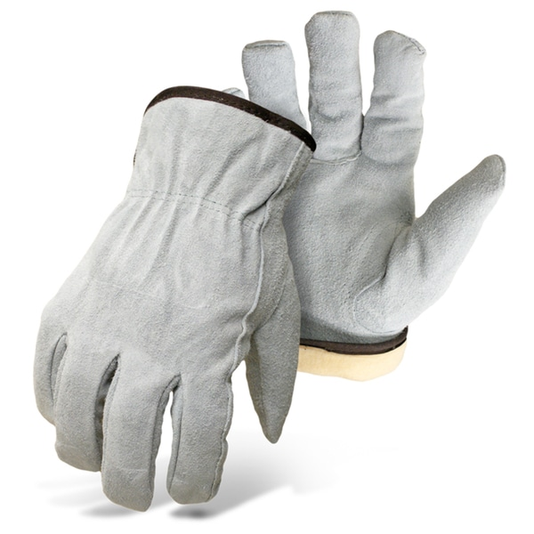 Boss Gloves 7179L Large Tough Split Leather Gloves