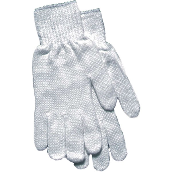 Boss Gloves 801S White String Knit Gloves