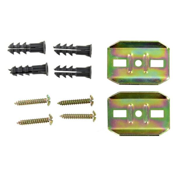 Franklin Brass EB1400WP Zinc Plated Futura Wallplate & Screws