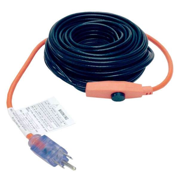 M-D 04325 6' Pipe Heating Cable With Thermostat
