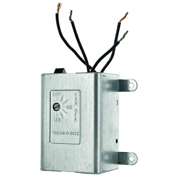Lomanco THERMO Ventilator Thermostat