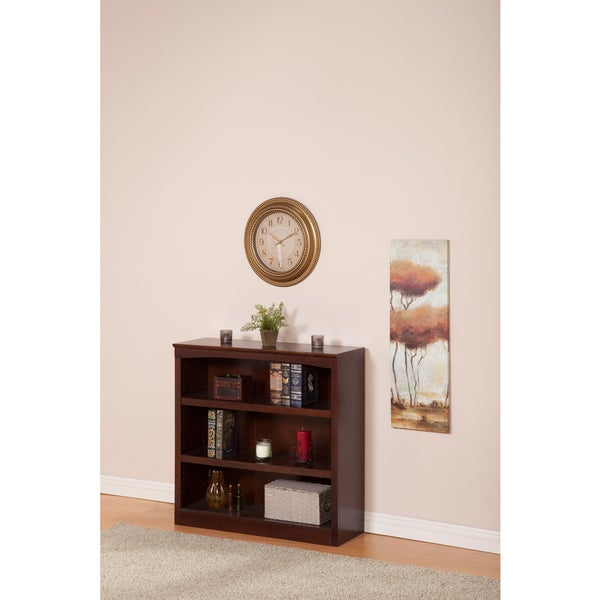 Atlantic Harvard 36-inch Walnut Book Shelf