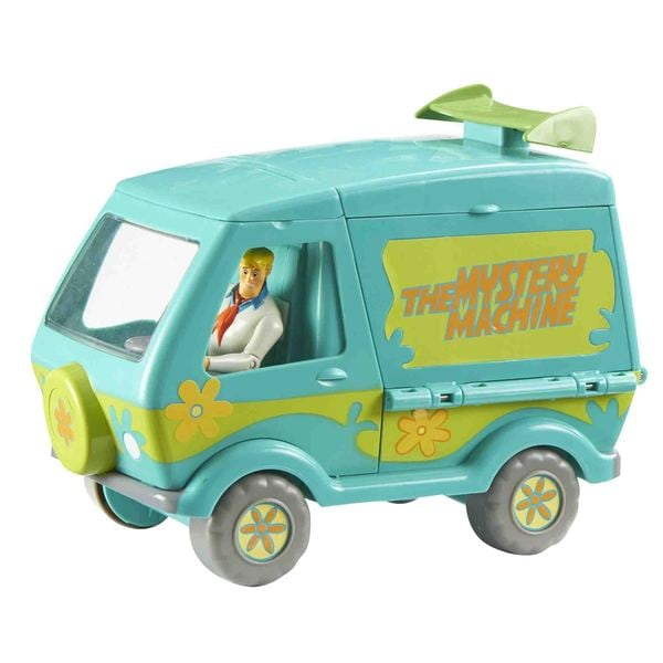 Scooby Doo Mystery Machine and Figure Playset