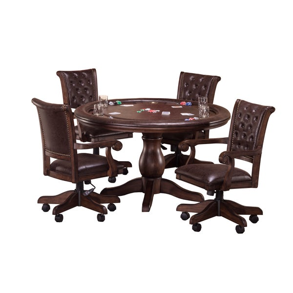 Hillsdale Furniture Chiswick 5-Piece Game Table Set 20464498
