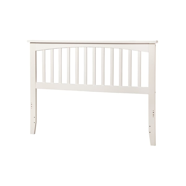 Mission Headboard Full White