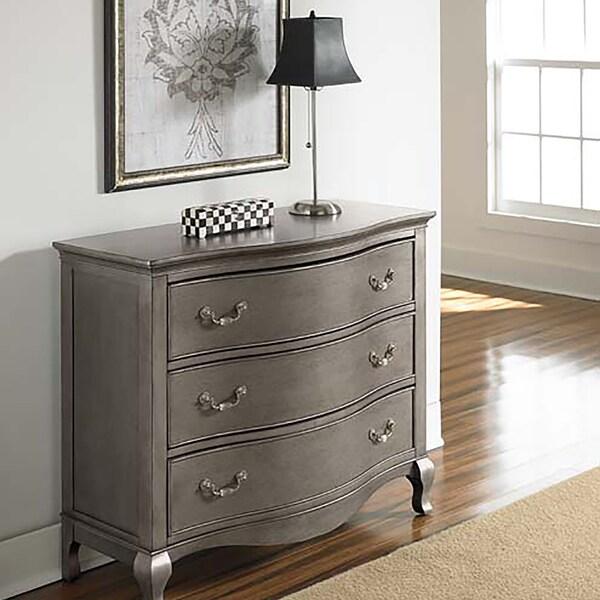 Kensignton Antique Silver 3-drawer Dresser