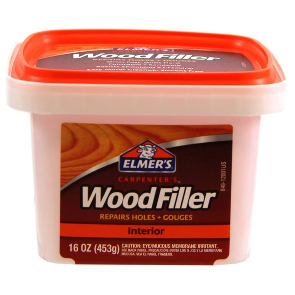 Elmer's E849D8 16 Oz Carpenters Interior Wood Filler