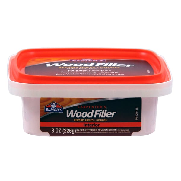 Elmer's E848D12 1/2 Pint Carpenters Wood Filler