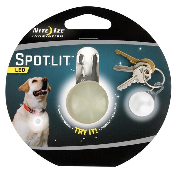 Nite Ize SLG-03-02 White LED Carabiner Spotlit