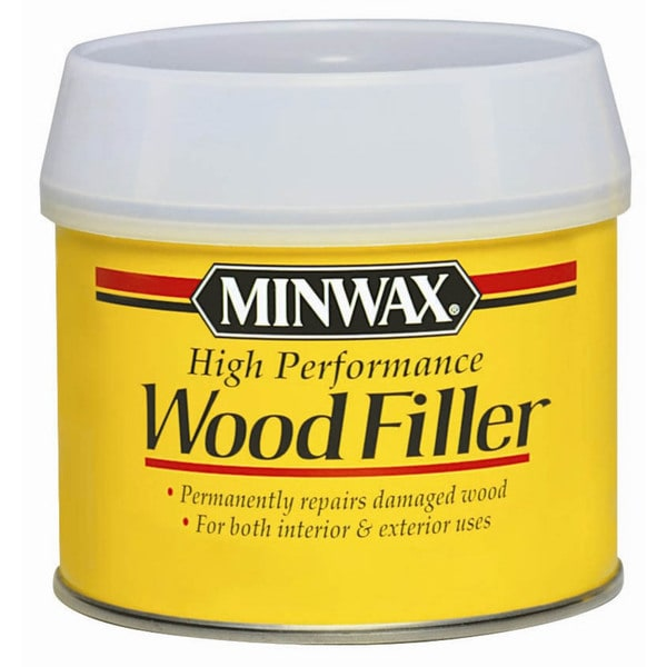 Minwax 41600 6 Oz High Performance Wood Filler