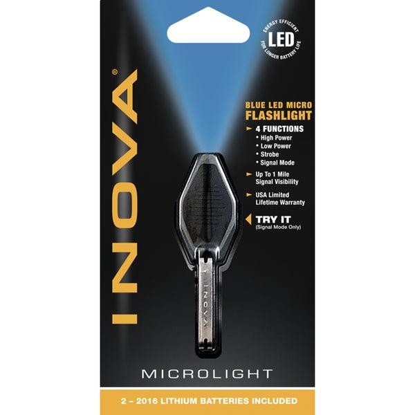 Nite Ize BB-UV Black Inova UV LED Microlight