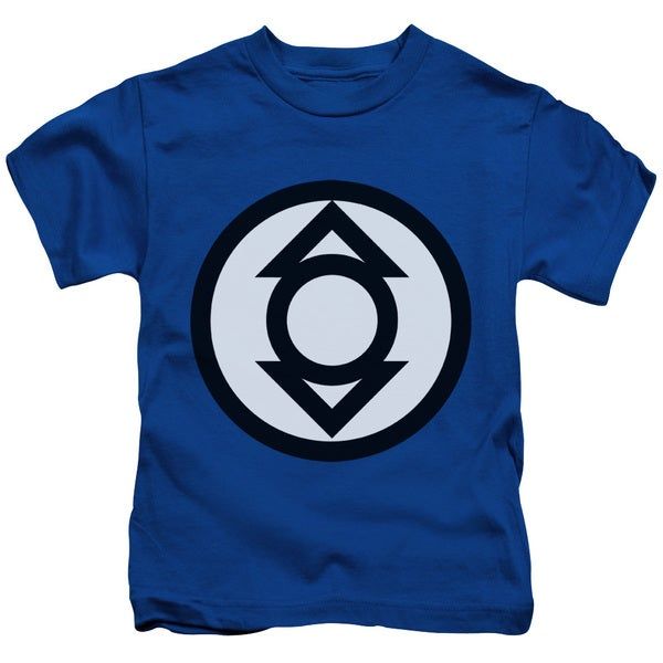 Green Lantern/Indigo Tribe Short Sleeve Juvenile Graphic T-Shirt in Royal