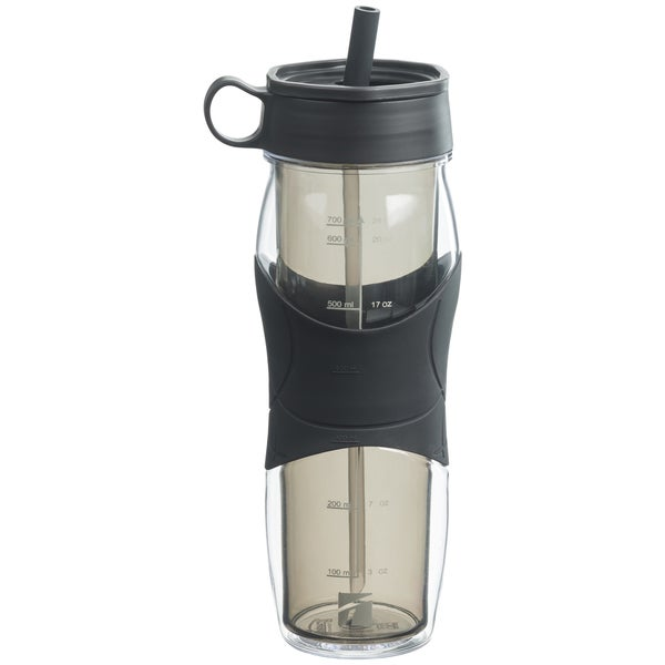 Trudeau 04715103 24 Oz Gray Hydro Water Bottle