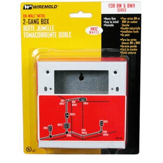 Wiremold BW32 Two Gang Box