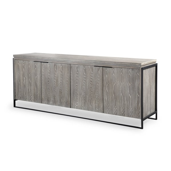 Westwood Washed Grey Elm Buffet