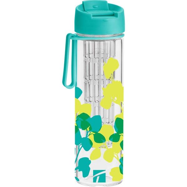 Trudeau 08714201 17 Oz Floral Hydration Water Bottle