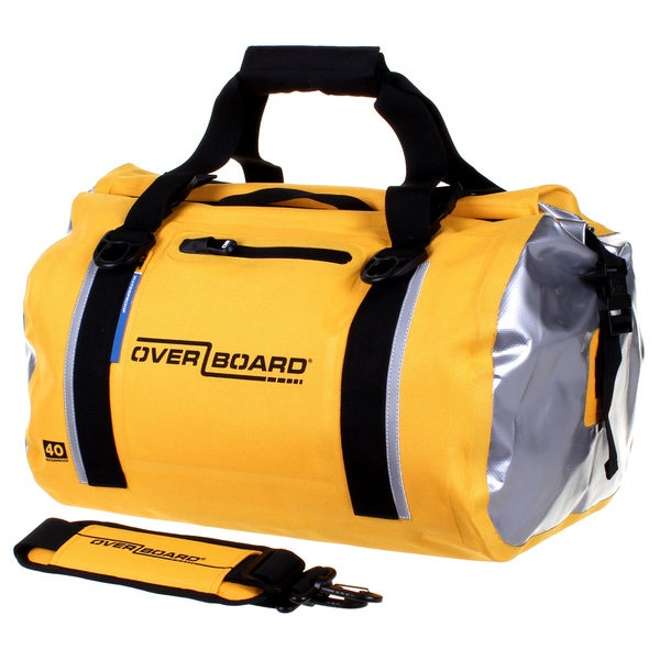 40L Classic Waterproof Duffel Bag Yellow