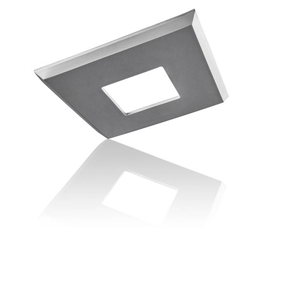 EzClipse Satin-chrome 5-inch Square Low-profile Magnetic Shade