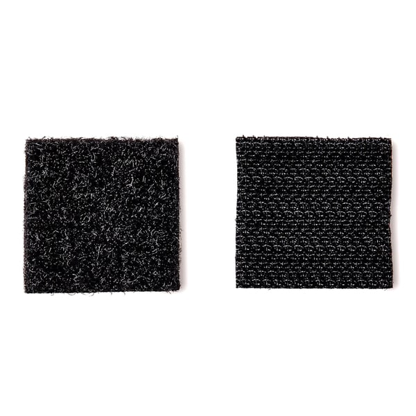 "3M RF4721 7/8"" X 7/8"" Black Scotch Indoor Velcro Fasteners 12-count"