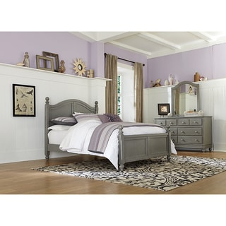 Lake House Kennedy Stone Grey Full Bed With Trundle