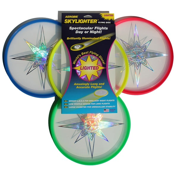 Aerobie 27R12 Skylighter Flying Disc Assorted Colors