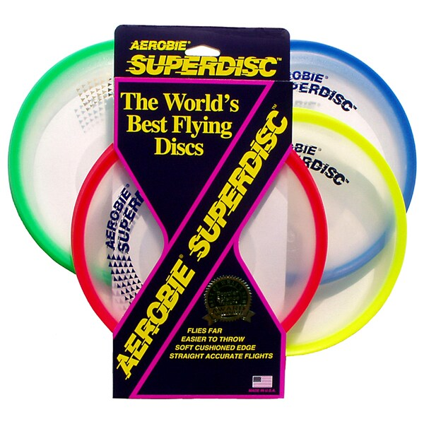 Aerobie 25R12 Superdisc Assorted Colors