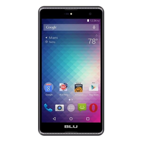 BLU Grand 5.5 HD G030U Unlocked GSM Quad-Core Android Phone w/ 8MP Camera