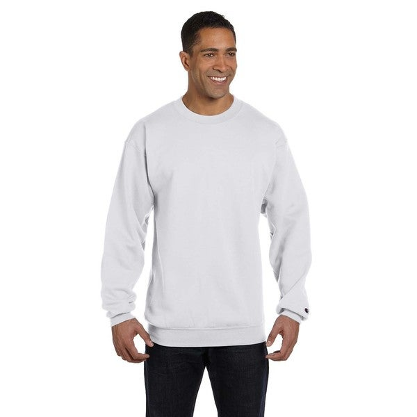 Men's Crew-Neck Silver Grey Sweater