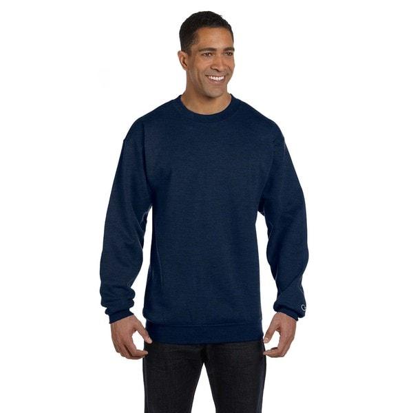Men's Crew-Neck Navy Heather Sweater