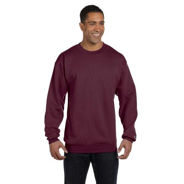 Men's Crew-Neck Maroon Sweater