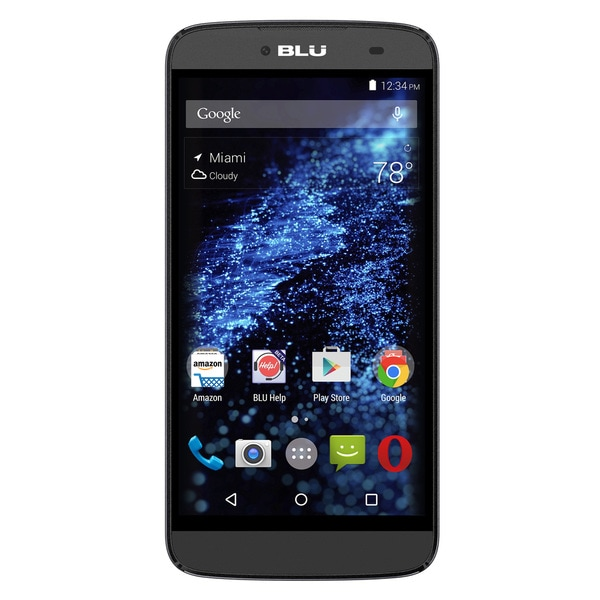 BLU DASH X Plus D950L Unlocked GSM Phone - Black