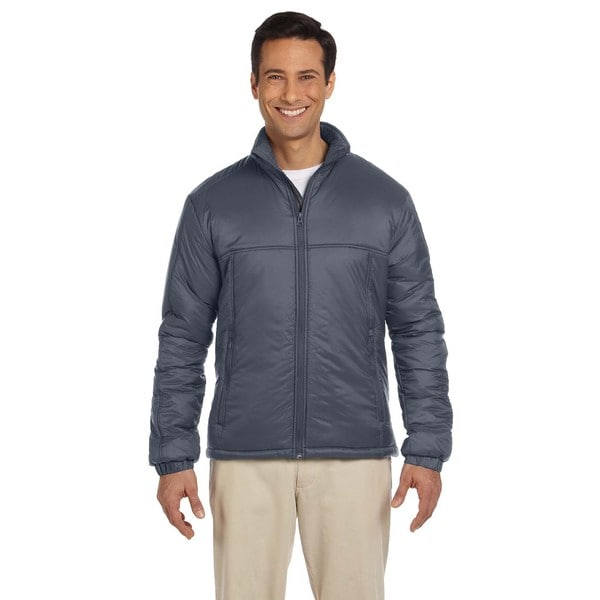 Essential Men's Big and Tall Polyfill Graphite Jacket