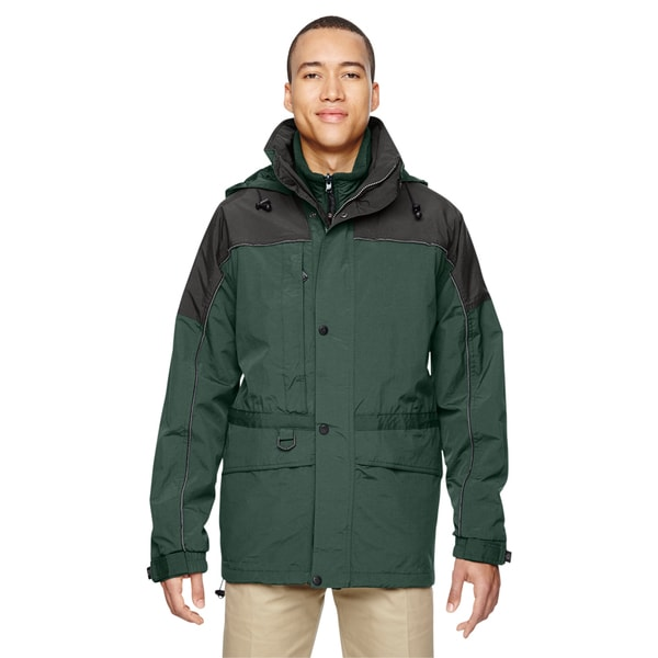 3-In-1 Men's Two-Tone Alpine Gren 723 Parka