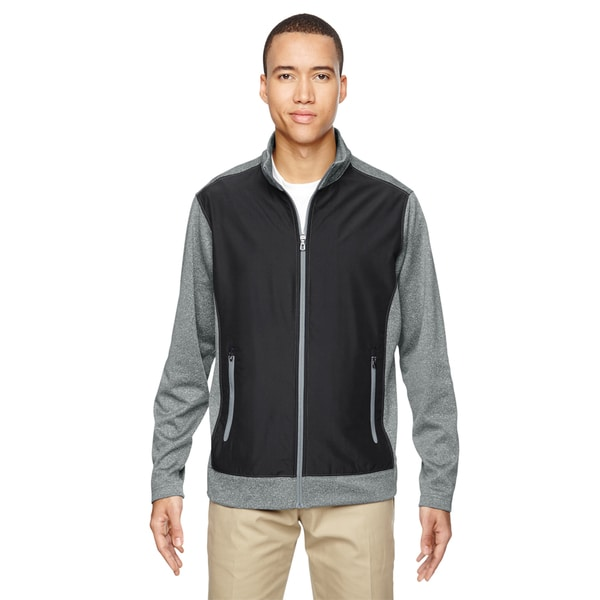 Victory Hybrid Men's Performance Fleece Black 703 Jacket