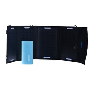 Renogy 14W Portable Solar Power Bundle Kit w/ Battery Charger