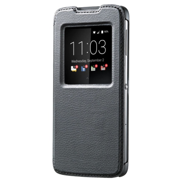 BlackBerry DTEK50 Smart Flip Case - Black