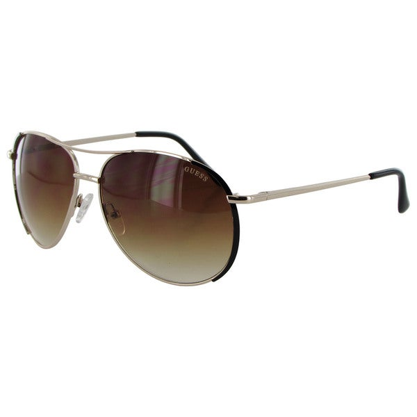 Guess Womens GF0267 Wire Rim Aviator Fashion Sunglasses