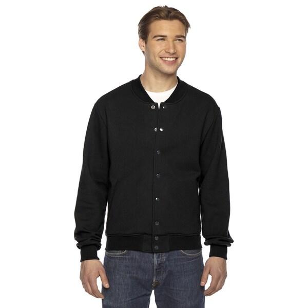 Unisex Flex Fleece Club Men's Black Jacket