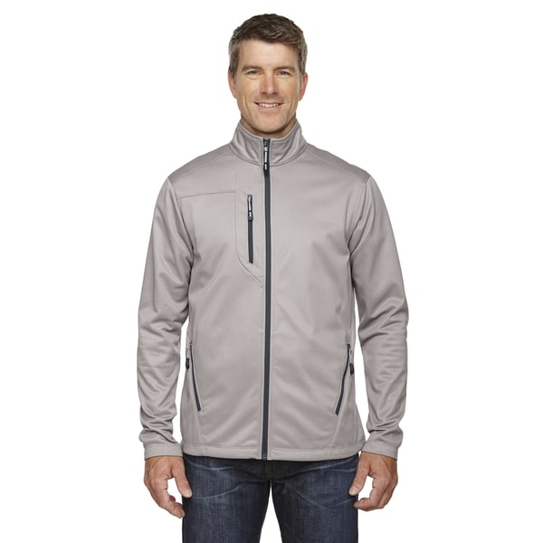 Trace Printed Fleece Men's Platinum 837 Jacket