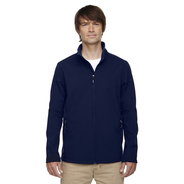 Tall Cruise Two-Layer Fleece Bonded Soft Shell Men's Classic Navy 849 Jacket