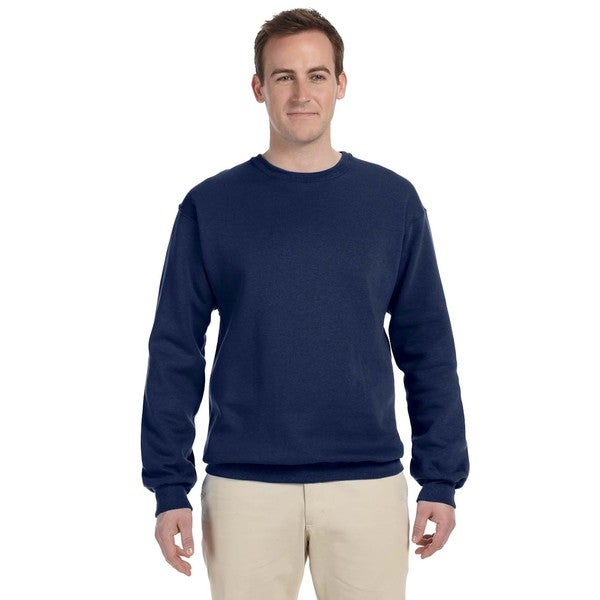 50/50 Nublend Fleece Men's Crew-Neck J Navy Sweater