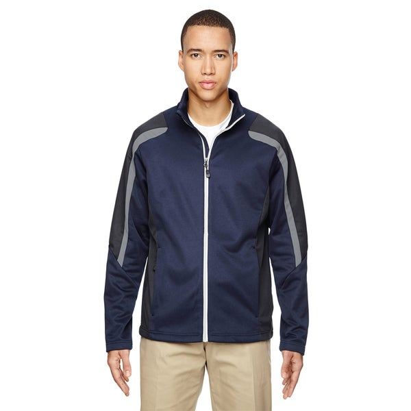 Strike Colorblock Fleece Men's Classic Navy 849 Jacket