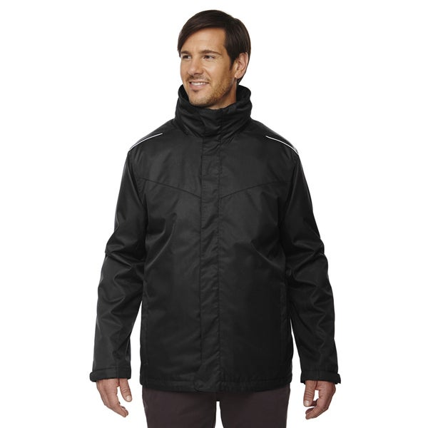 Region 3-In-1 Men's Black 703 Jacket with Fleece Liner