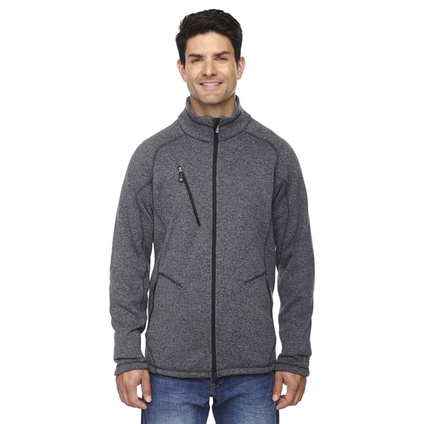 Peak Fleece Men's Heather Charcoal 745 Jacket