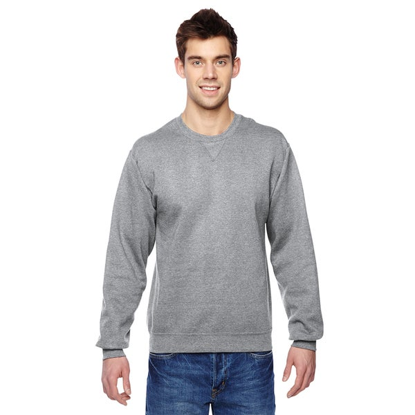 Sofspun Crew-Neck Men's Athletic Heather Sweatshirt