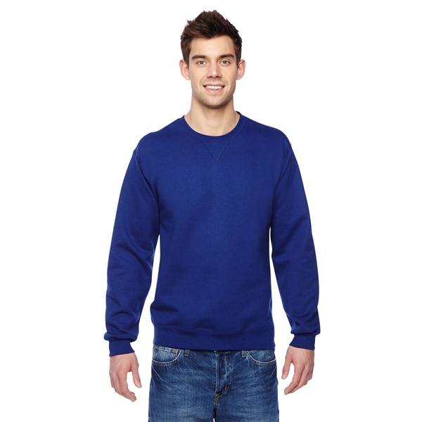 Sofspun Crew-Neck Men's Admiral Blue Sweatshirt