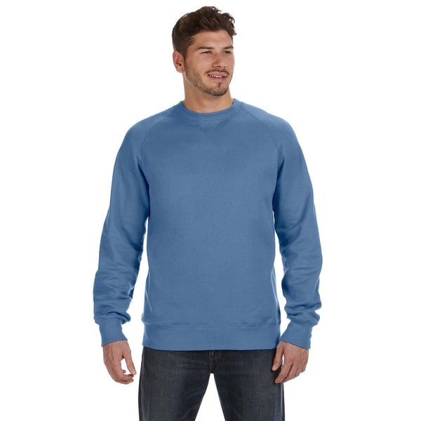 Nano Men's Crew-Neck Vintage Denim Sweater